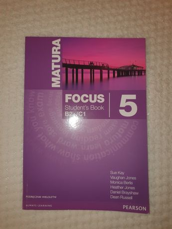 Książka Focus 5 Person