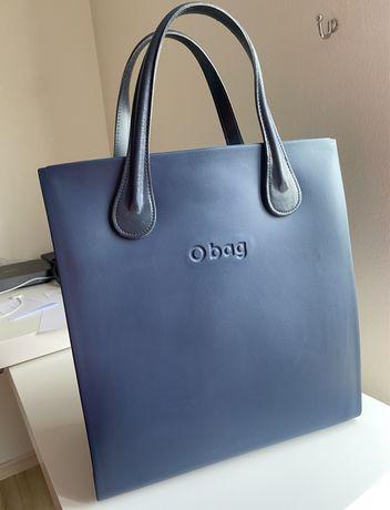 Obag square blue navy torebka plecak