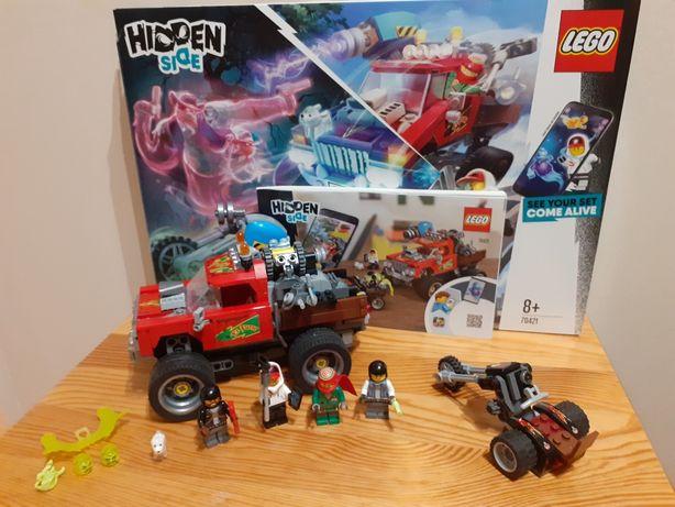 LEGO Hidden Side 70421 Samochód kaskaderski