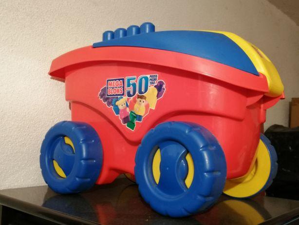 Carro Chico transporte de peças lego, para criança