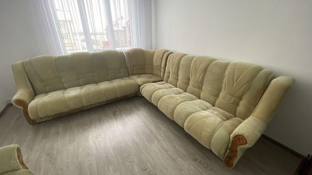 М'яка частина, м'який кутовий диван, розкладний диван, м'ягкі крісла