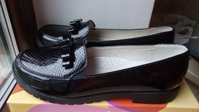 Туфли 24см кожа натуральная FLAMINGO Новые можно на подарок