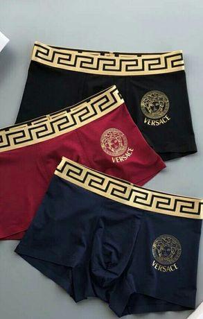 Мужские трусы комплект, набор трусов Versace
