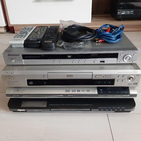 Odtwarzacz Dvd 4 szt Pioneer Sony Manta Clatronic