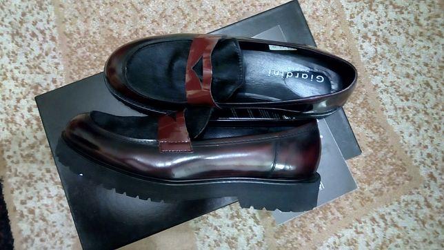 Туфли, лоферы Giardini кожа