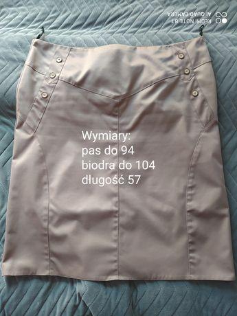 Beżowa spodnica 46
