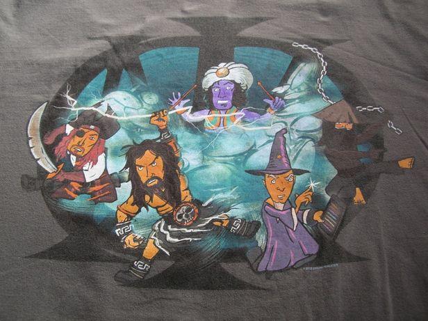 Tshirt koszulka koncertowa z trasy Dream Theater XL/XXL j. nowa Gildan