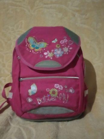 Plecak różowy + worek do kompletu
