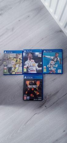 Gry PS4 sztuka 30zł