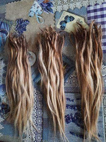 Волосы натуральные, европейские