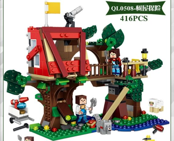 "Конструтор ""Мinecraft"" домик на дереве"
