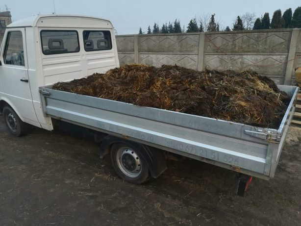 Obornik koński nawóz naturalny 1 tona z transportem Poznań i okolice