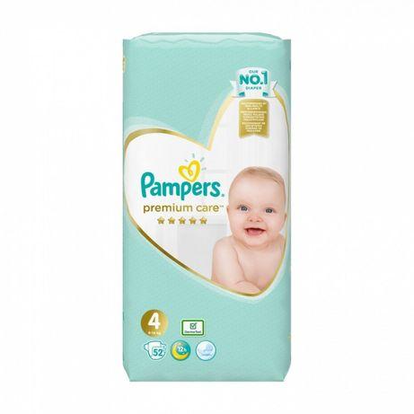 Подгузники Pampers Premium Care 4, 52 шт