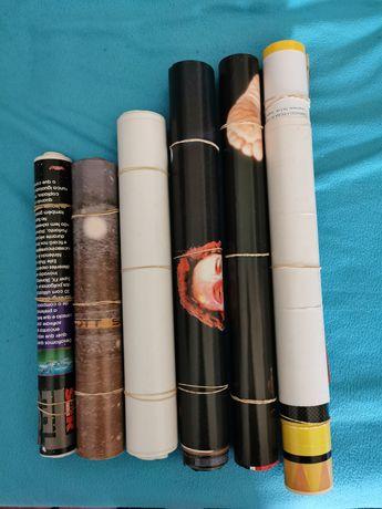 Vendo coleção +350 pósteres TV guia, TV mais, JN, revista super jovem