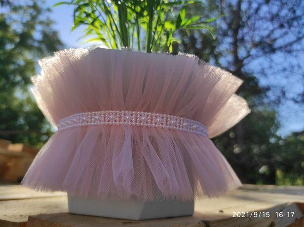 Подвязка невесты медовая