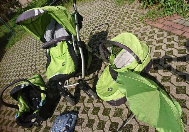 Wózek Xlander 3 w 1- bogate wyposażenie