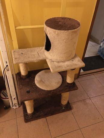 Drapak/domek dla kota/kotów