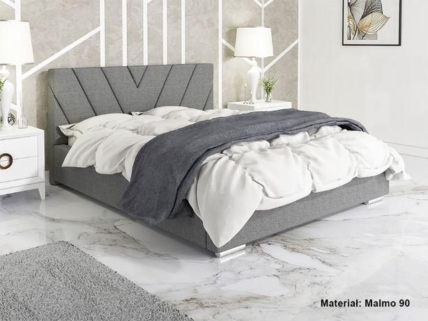 Łóżko tapicerowane LUX14 160x200 Stelaż + pojemnik