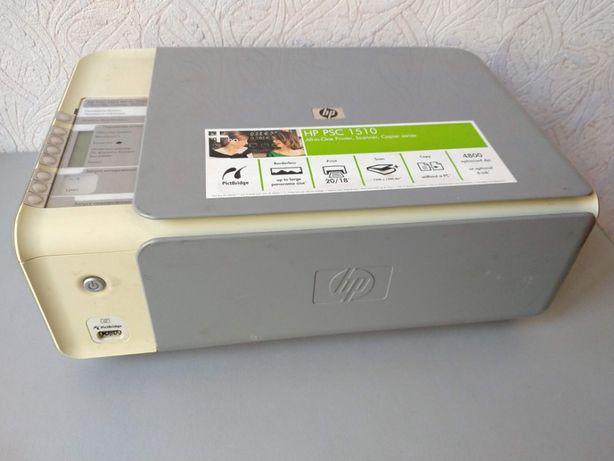 МФУ HP PSC 1513 высохла краска (принтер, сканер)