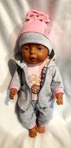 ubranka dla lalki 43cm nowe komplecik Wilkasy - image 1