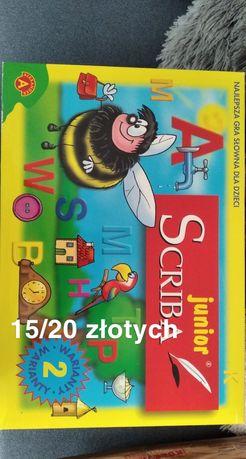 "Gra ""Scrabble junior"""