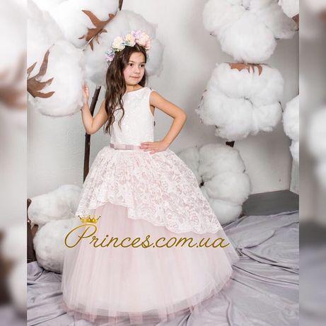 Нарядное бальное детское платье Анита от производителя, дропшиппинг.