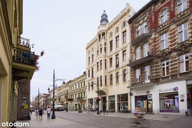 Piotrkowska 37, lokal z balkonem, winda
