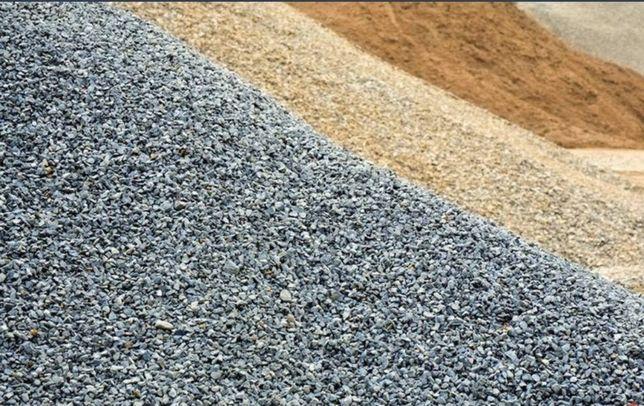 Roboty ziemne, piasek, żwir, gruz kruszony-betonowy