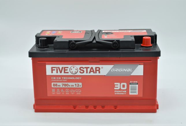 Akumulator FIVE STAR ORIGINAL 588 R 88AH / 780A / LB4