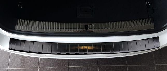 AUDI A4 B9 Avant kombi Nakładka na zderzak listwa czarna/grafitowa