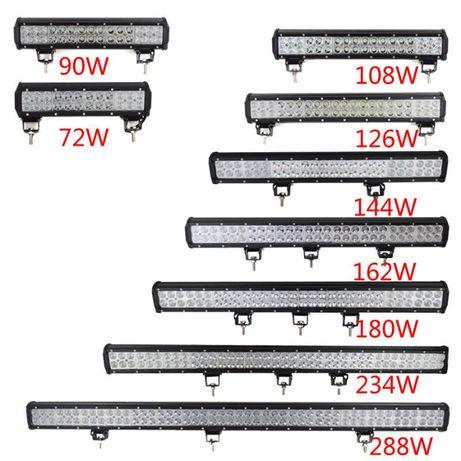 BARRA LED 18W/ 36W/ 54W/ 72W/ 90W/ 108W/ 126W/ 144W/ 180W/ 240W/ 300W