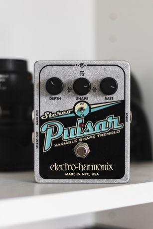Electro-Harmonix Stereo Pulsar, tremolo, efekt gitarowy