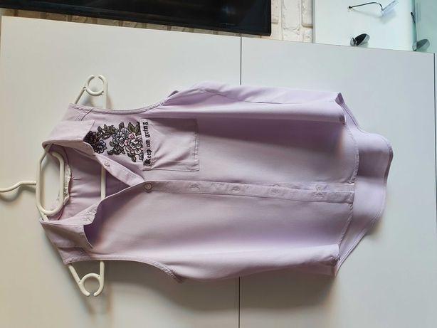 Koszula dziewczęca h&m 146