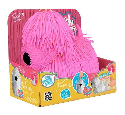 Інтерактивна іграшка Jiggly Pup Пустотливе цуценя (Рожевий)