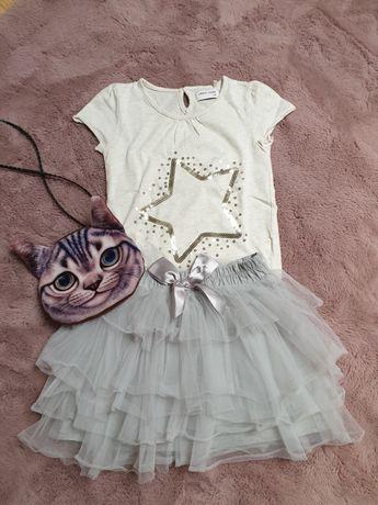 Komplet ubrań dla dziewczynki roz 134