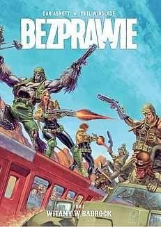 Bezprawie - 1 - Witamy w Badrock (okładka limitowana) Komiks