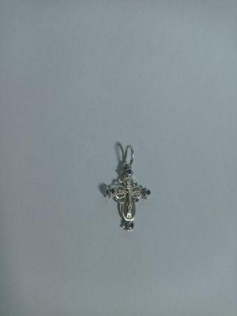 Продам серебряный крестик 925 пробы