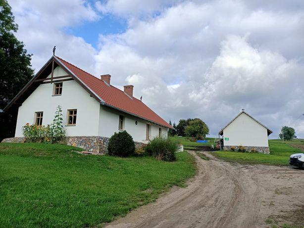 Wyjątkowy dom na Mazurach