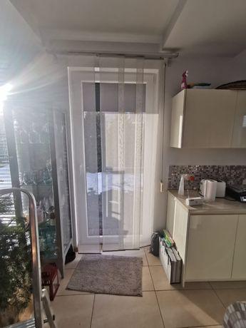 Ikea Kvartal komplet szyn/karniszy  razem z panelami