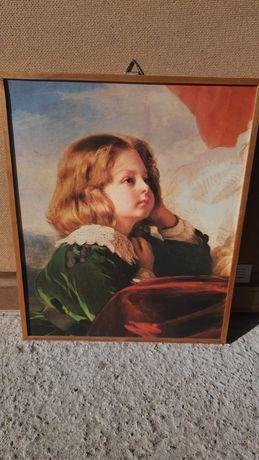 Obraz Franciszek Winterhalter Elżbieta Krasińska z dziećmi