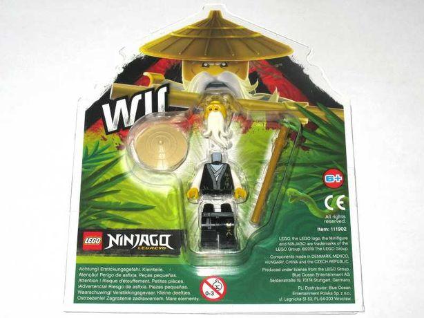 Lego NINJAGO figurki Sensei WU - ORYGINALNE