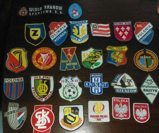 Naszywki emblematy kluby sportowe kluby piłkarskie