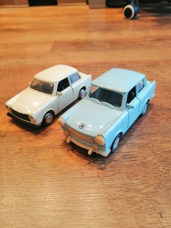 2 Modele trabanta metalowe