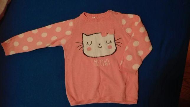 Sweterek , rozowa bluzeczka 86