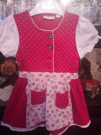 Детское платье для девочки 74 см