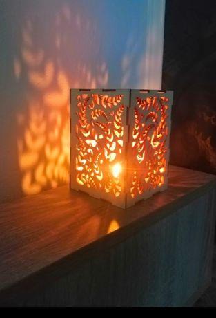Lampion ozdobny / świecznik