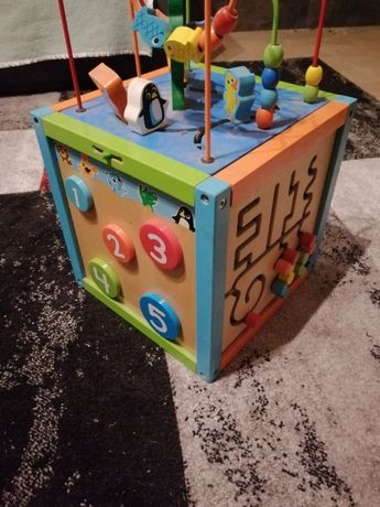 Cubo 6 jogos didáticos