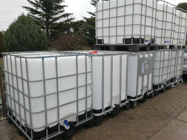 Mauzer zbiornik ibc 1000l na wodę paliwo