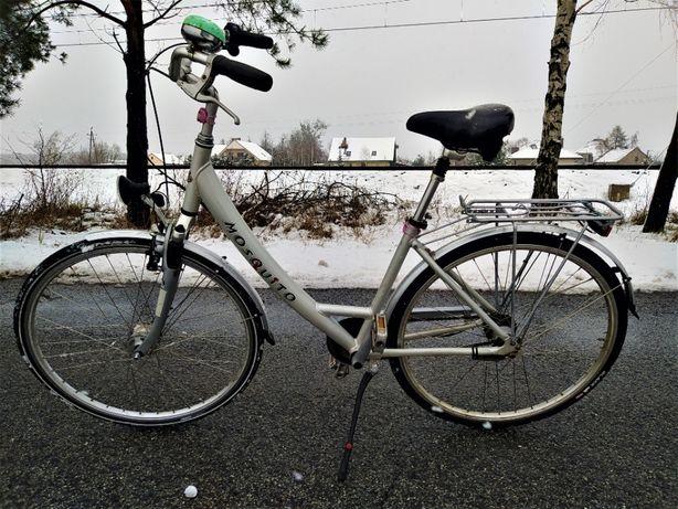 """Rower Miejski Mosquito Damka koła 28"""" Przygotowany do Sezonu Rama Al"""