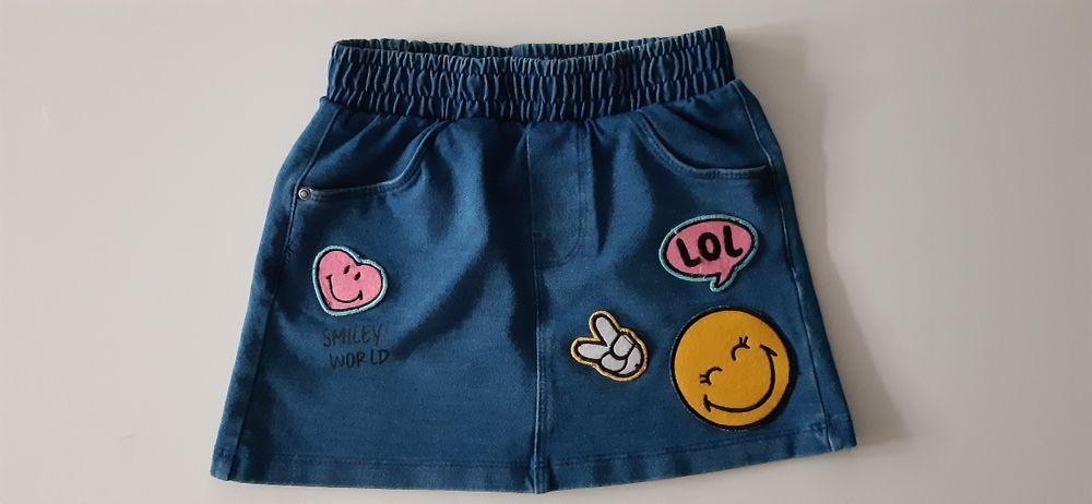 Jak nowa spódniczka jesnsowa rozm 104/110,Reserved, H&M,Cool Club,Zara Bytom - image 1